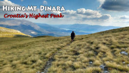Hiking Mt. Dinara, Croatia's highest Peak