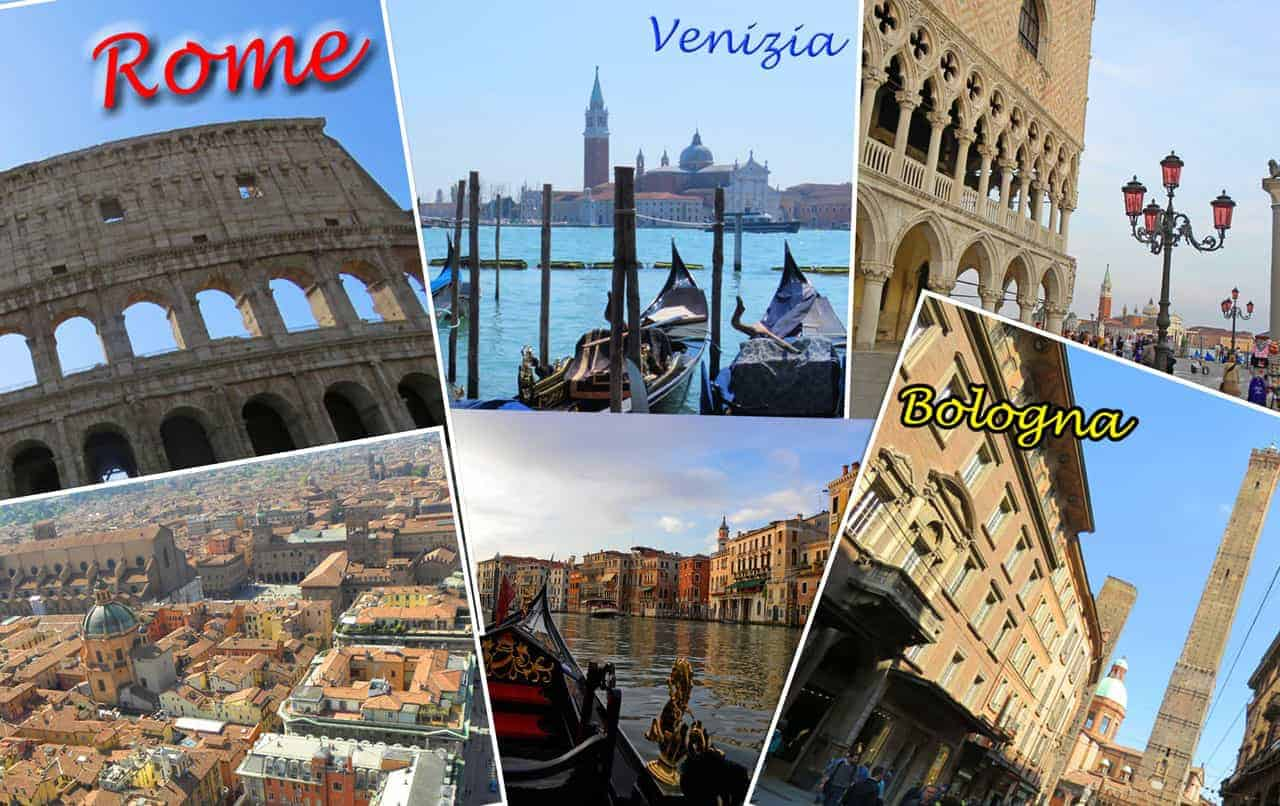 Venice Rome or Bologna – which should you Visit?