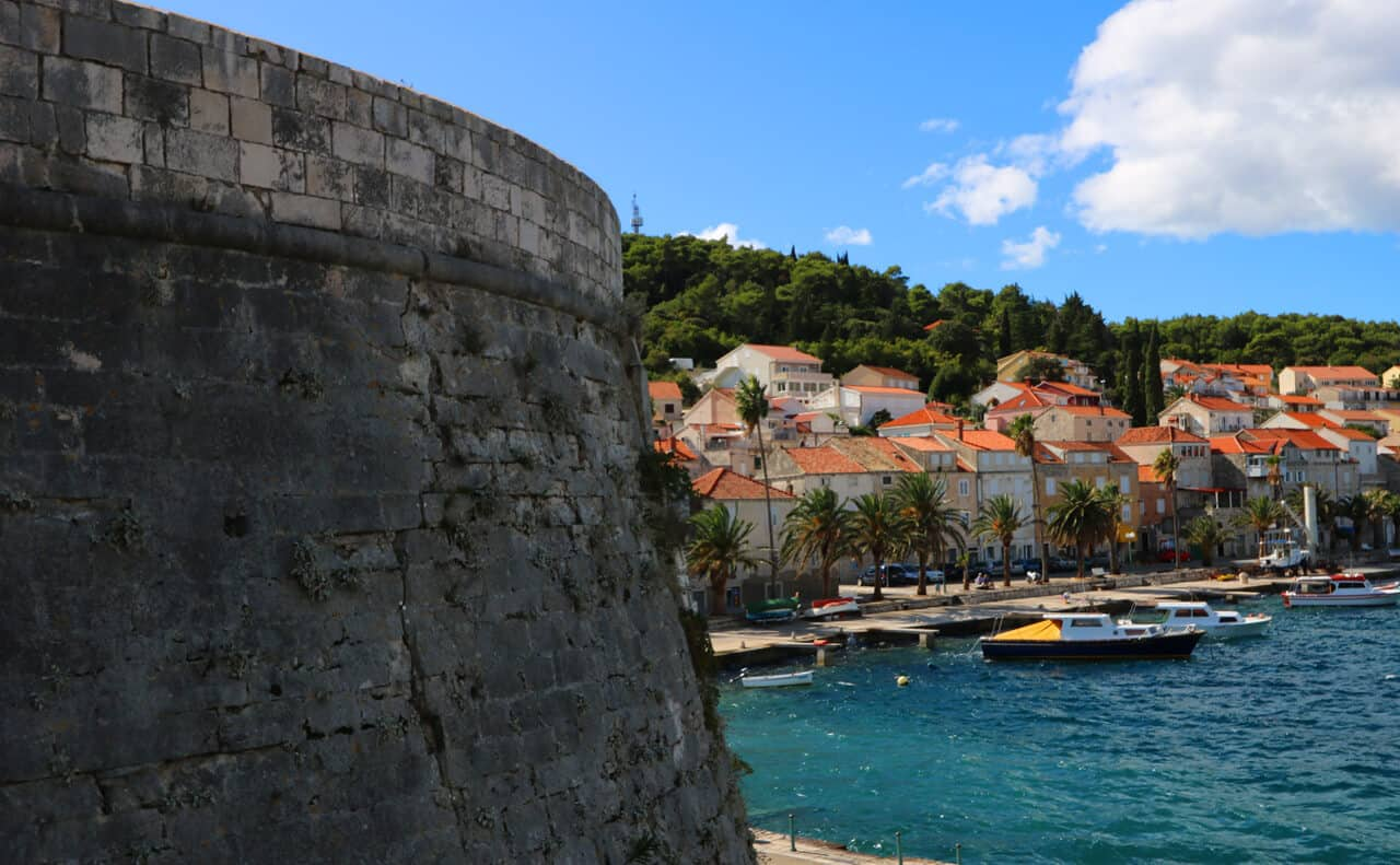 Incredibly photogenic Korčula Town through Spanky's eyes (Croatia)