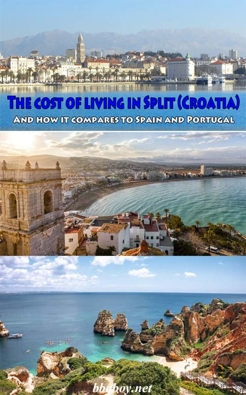 The cost of living in Split (Croatia)