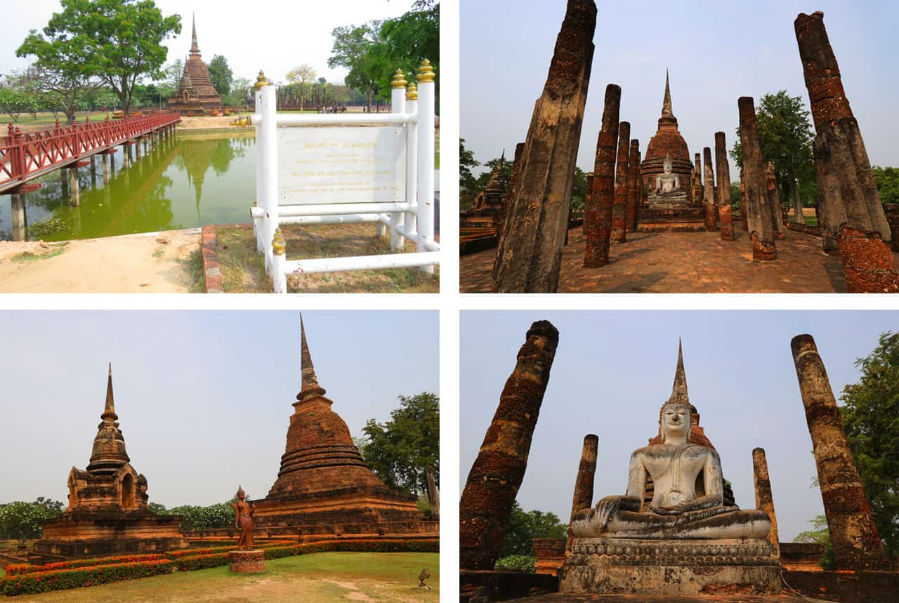 Wat Sa Si, Sukhothai. Sukhothai Historical Park Itinerary: What you should See and How much time you should Spend