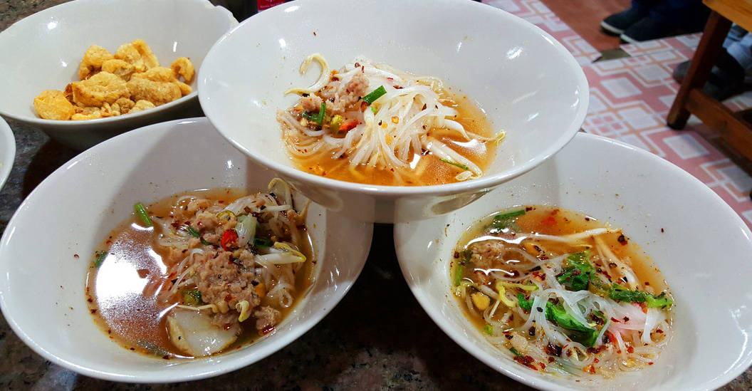 boat noodle alley, The Hypothetically Perfect Day in Bangkok
