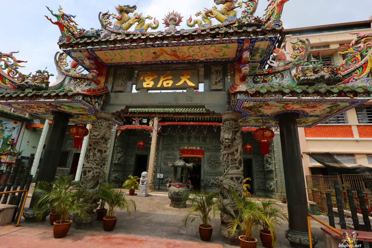 Thean Hou Buddhist Temple, Georgetown, Penang