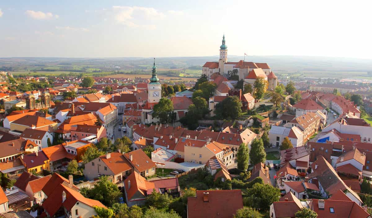 Mikulov from Holy Hill