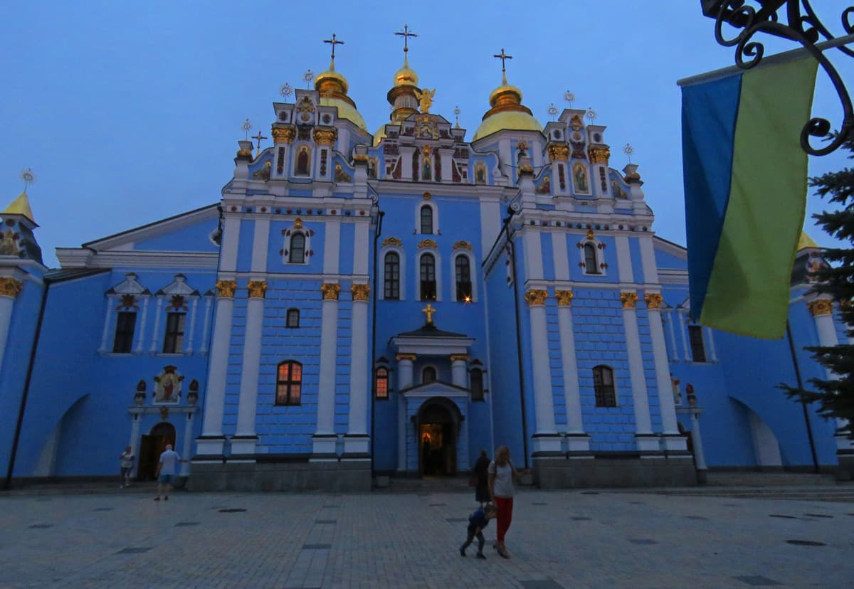 St Michael's domed church, Kiev