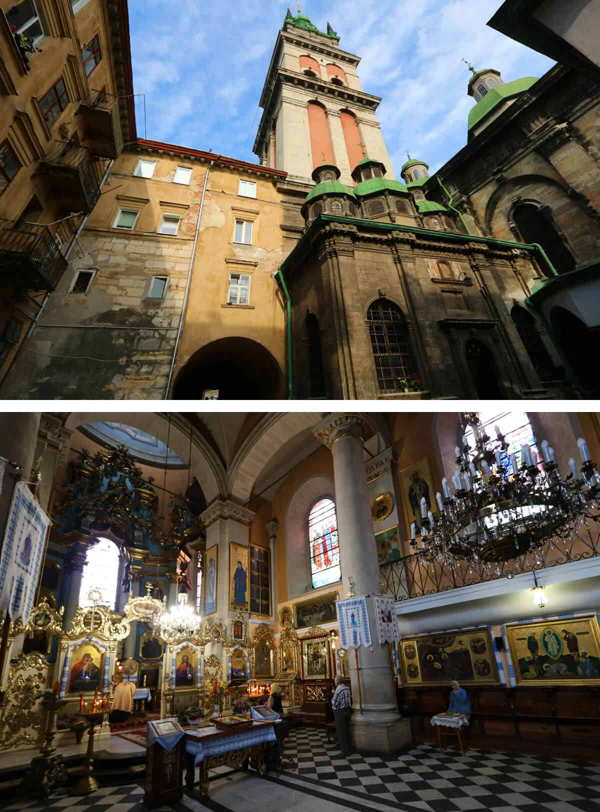 Assumption Church, Lviv Ukraine. The Ultimate Travel Guide to Lviv, Ukraine
