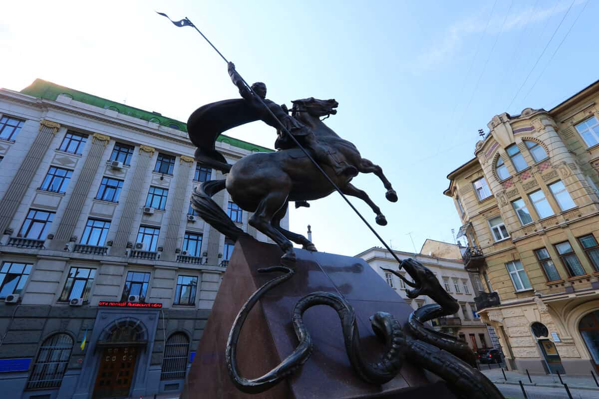 St. George Monument Lviv, Ukraine. The Ultimate Travel Guide to Lviv, Ukraine