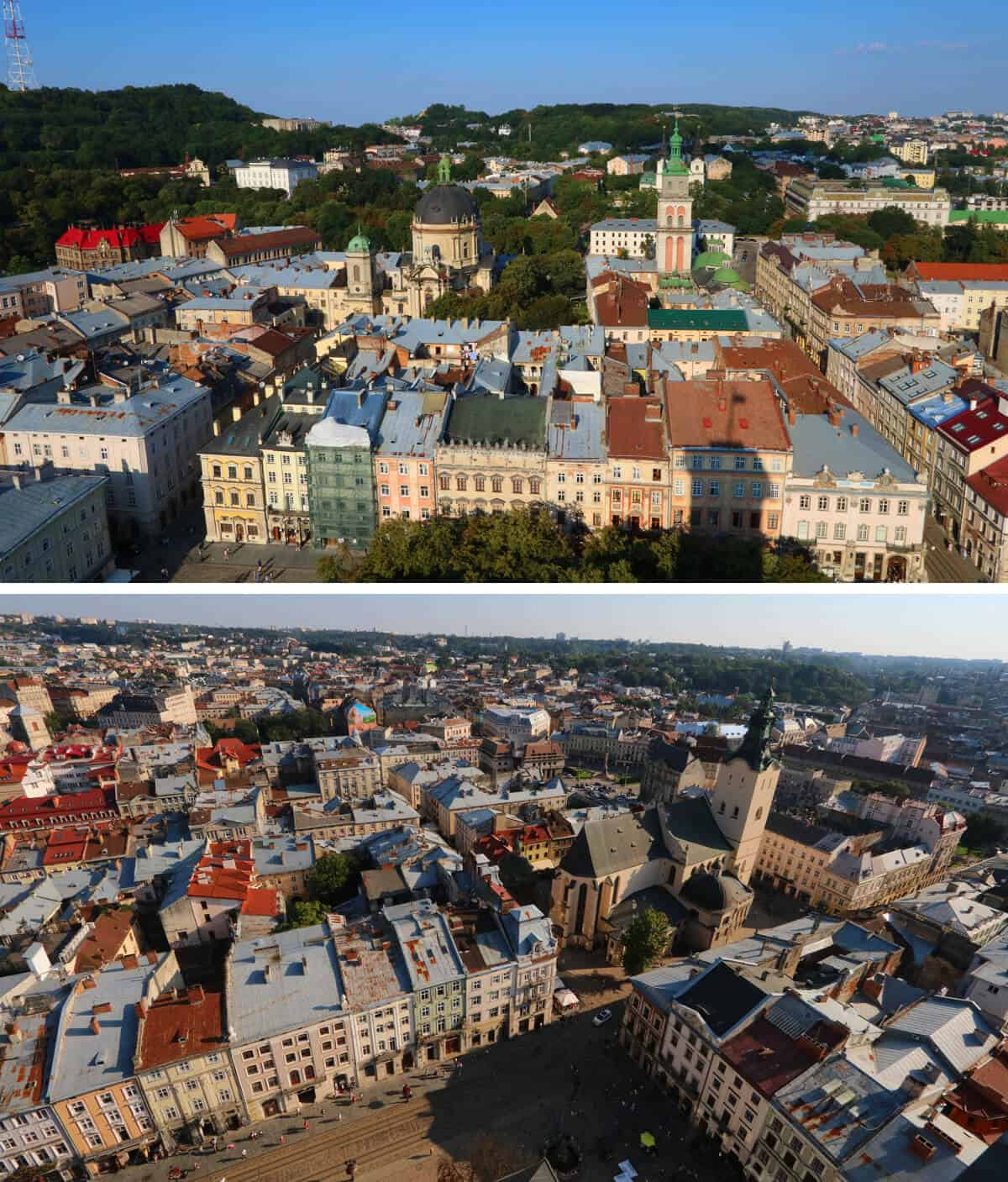 Views from the tower, Lviv Ukraine