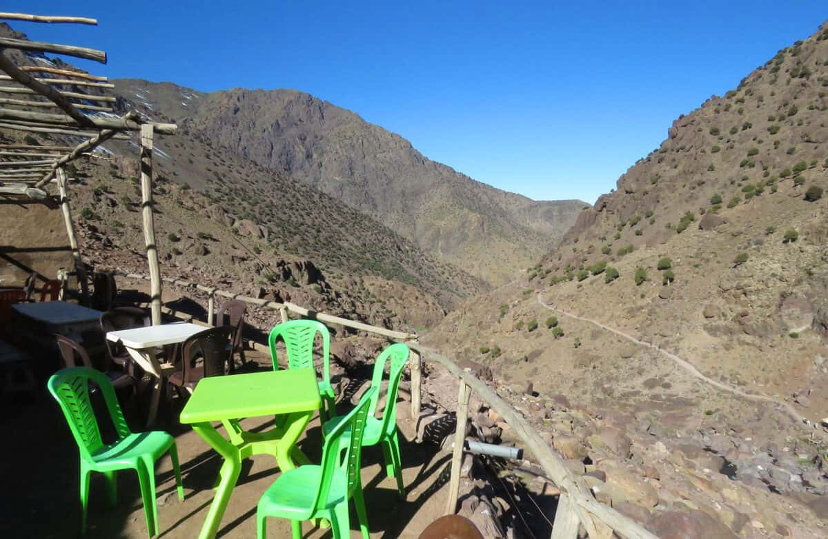 hiking Toubkal National Park, Morocco