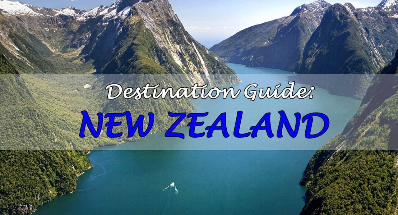 New Zealand Travel Guide. Where to Go, What to See, and How to do it.