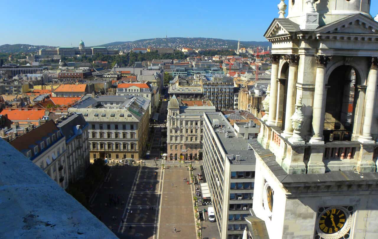 View from St. Stephen's Basilica, Budapest