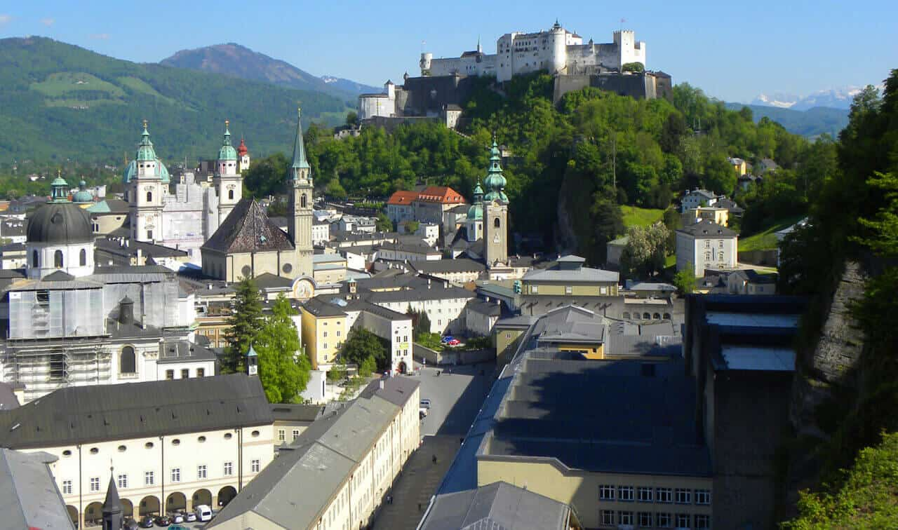 Salzburg. Austria Travel Guide: Where to Go and What to See