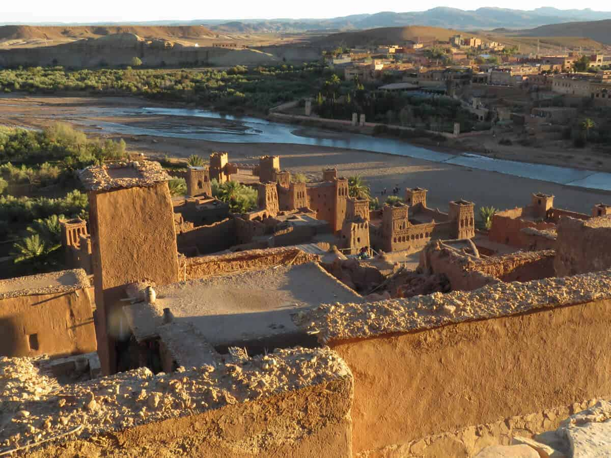 Buildings in Ait Benhaddou, Morocco