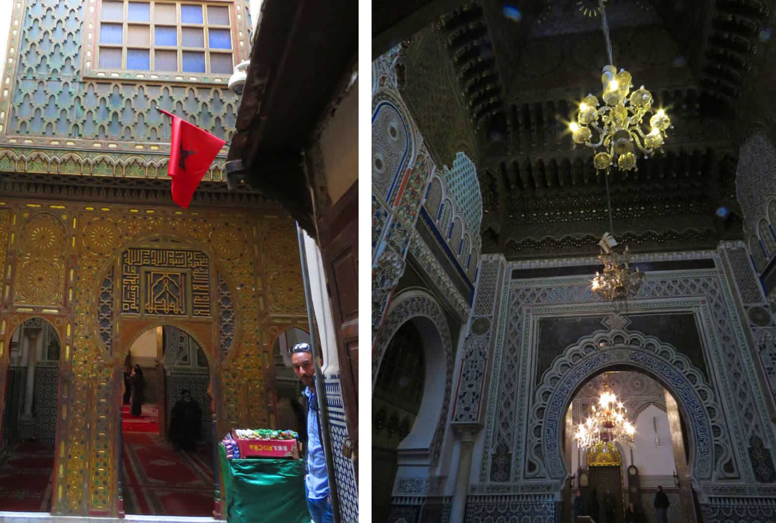 Moulay Idriss II shrine in Fez, Morocco. Fez or Marrakech? Which to Visit?