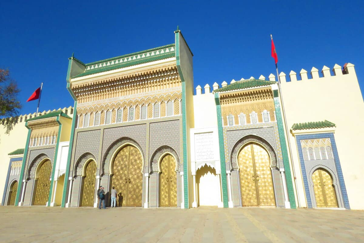 Royal Palace in Fez Morocco. Fez or Marrakech? Which to Visit?