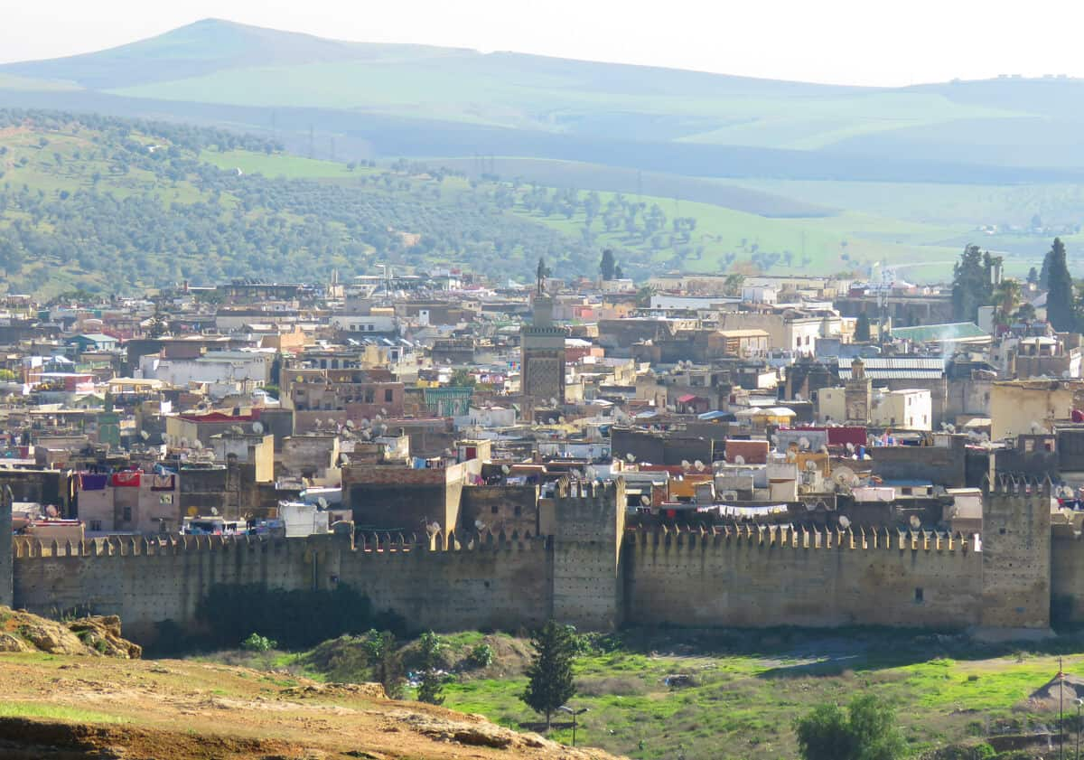 Borj Nord. Views over Fez. Fez or Marrakech? Which to Visit?