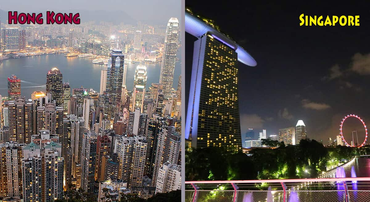 Hong Kong or Singapore: Which you should visit on a stopover?