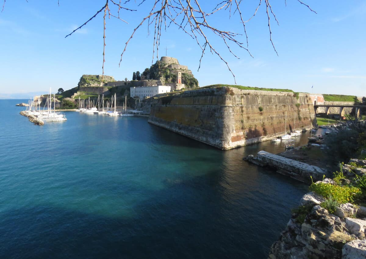 The Old Fortress. Corfu, Greece