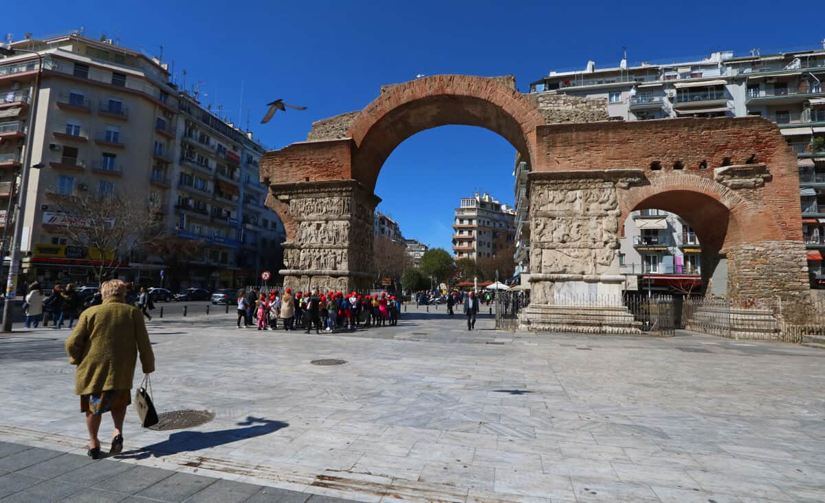 Arch of Galerius. Reasons to visit Thessaloniki (Greece).