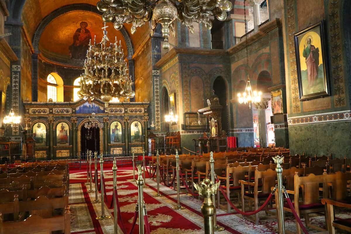Church of Saint Demitrius interior, Thessaloniki