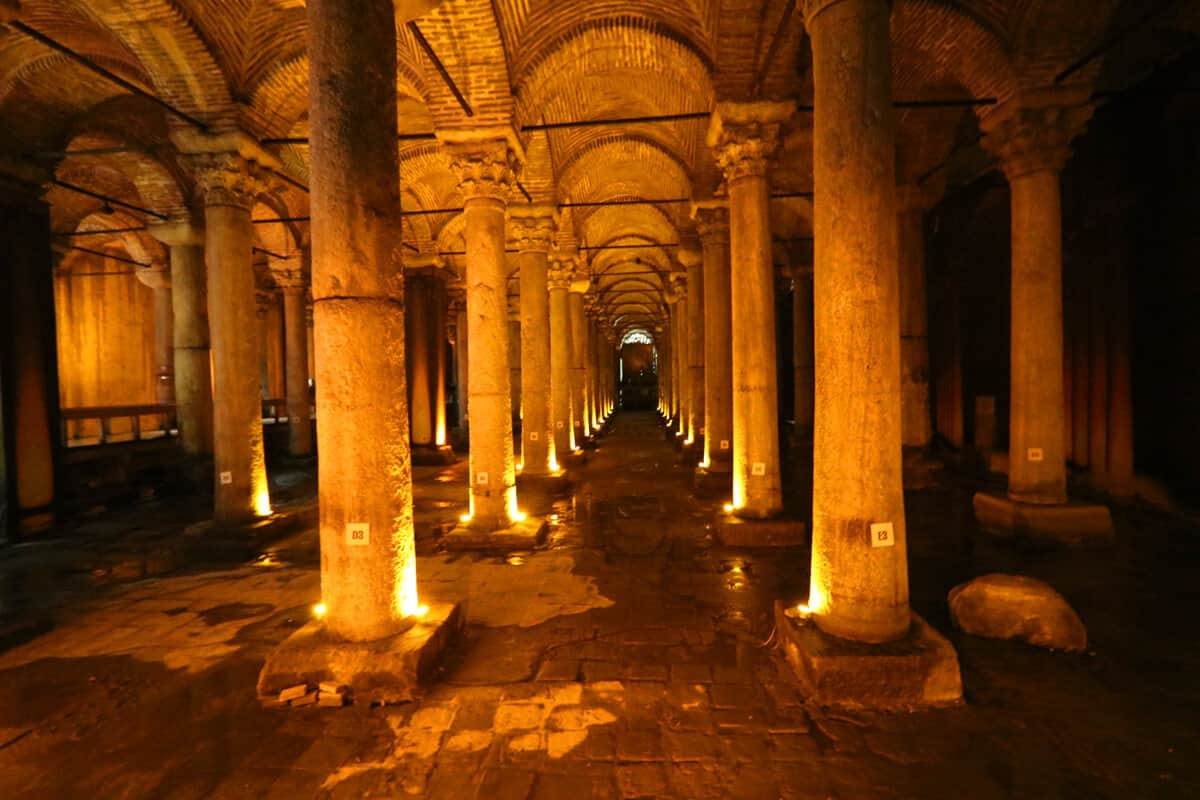 Basilica Cistern, Istanbul. What to see (and what to skip) in Istanbul