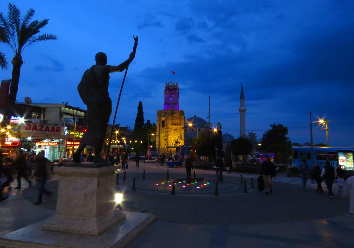 Square in the Old Town, Antalya, Turkey. Why you might like Antalya...and why it disappointed us