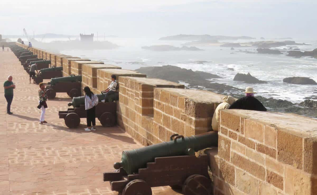 Views in Essaouira, Morocco