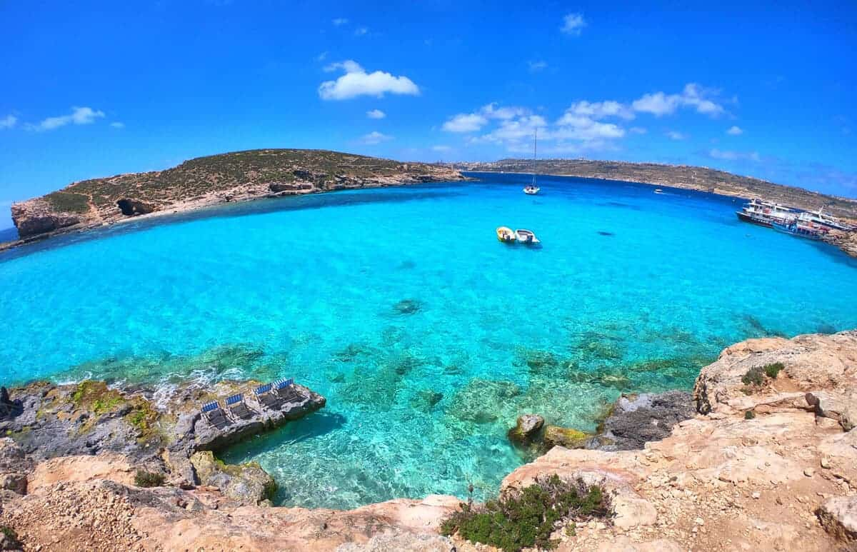 Comino's Beautiful Lagoon, Malta