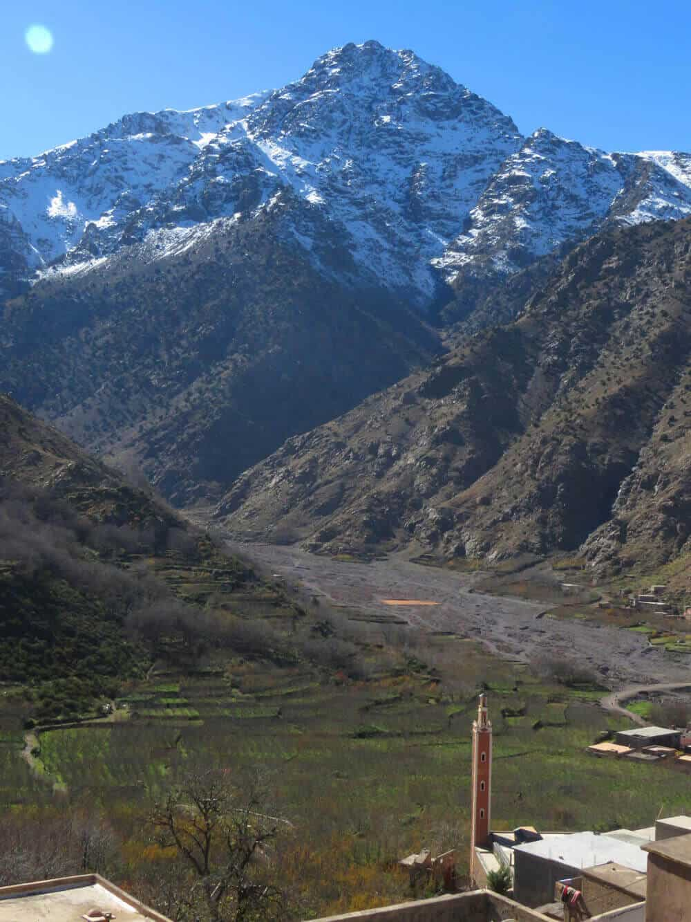 Views from Aroumd, Morocco. Toubkal National Park