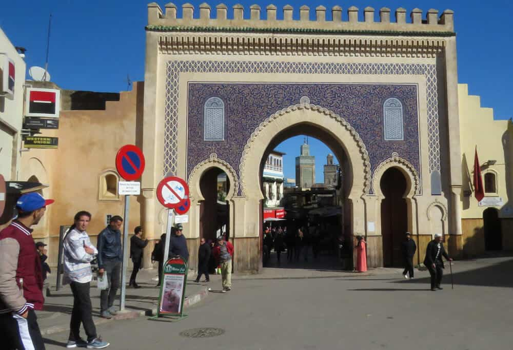 City Gate in Fez, Moroccco