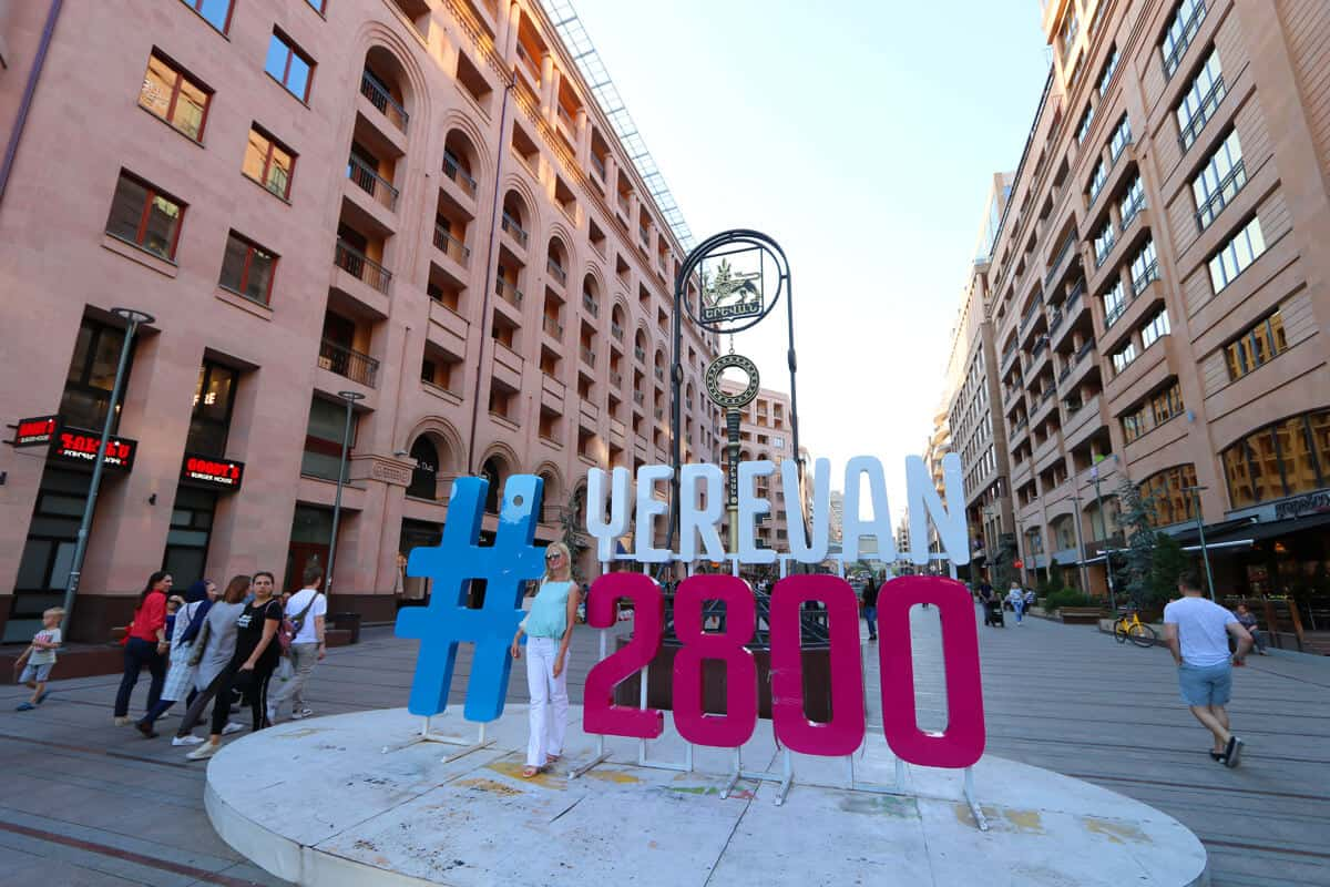 Northern Avenue and celebrating 2800 years of the city