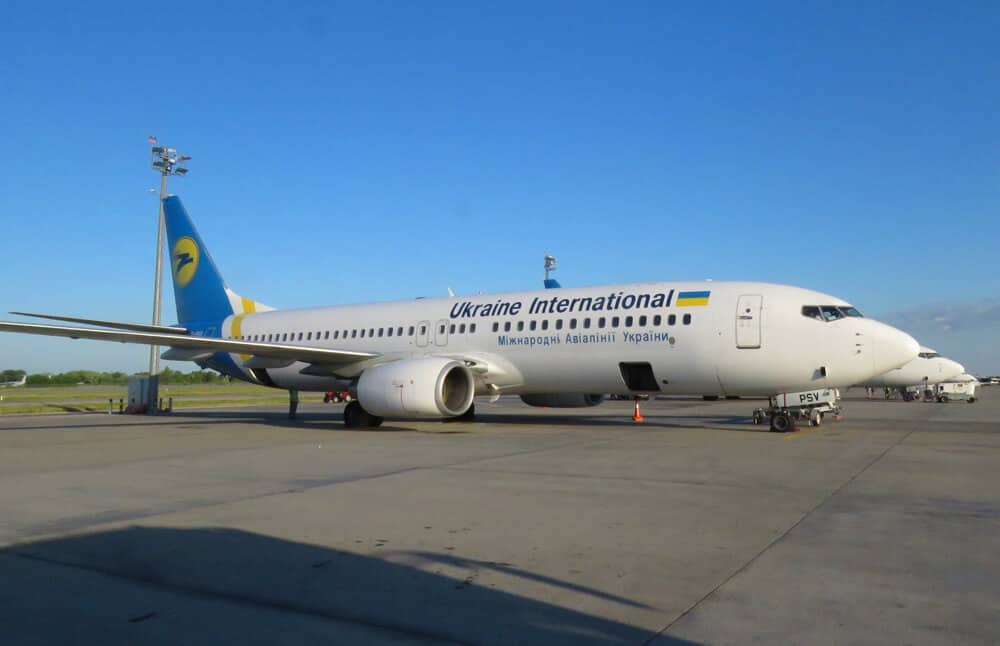 Ukrainian Airlines Boeing 737-800 in Kyiv. A Review of Ukrainian Airlines