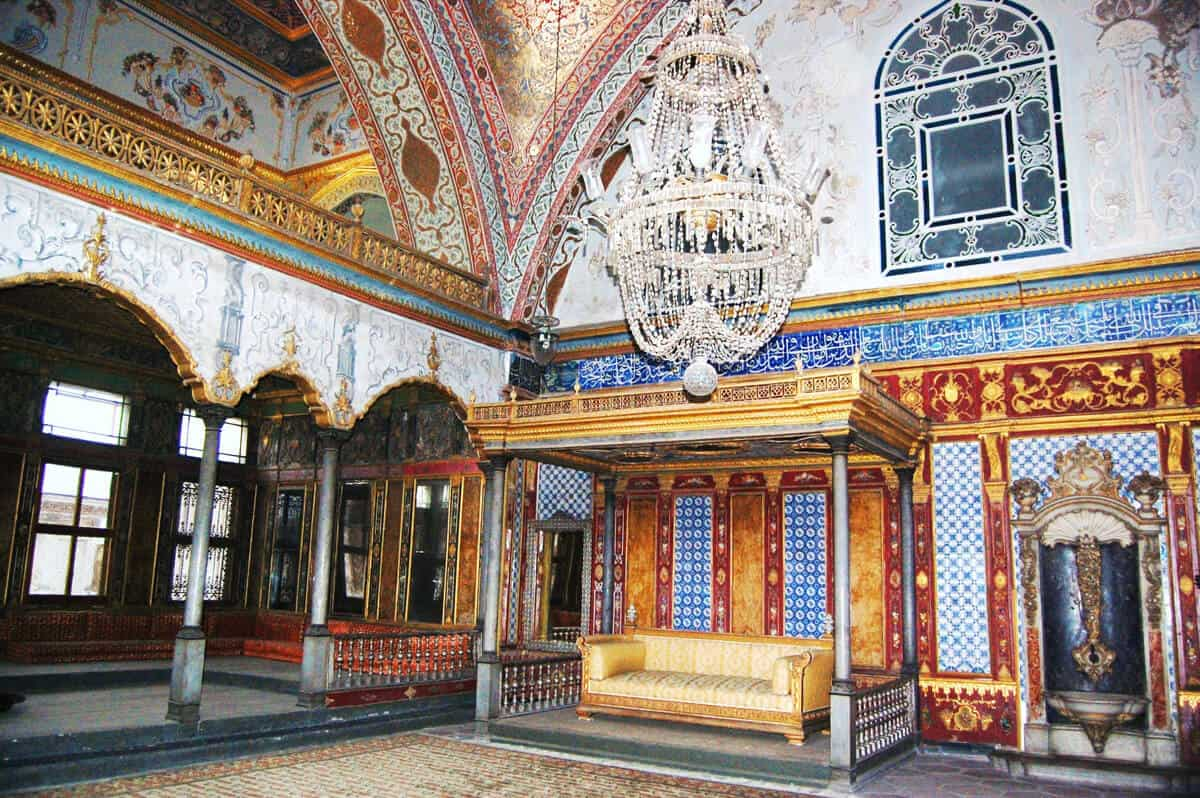 Topkapi Palace, Istanbul (source wikicommons). 3 Days in Istanbul