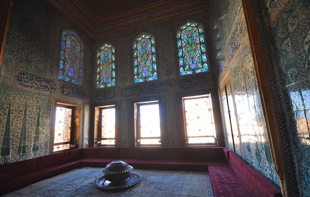 Topkapi Palace, source wikicommons