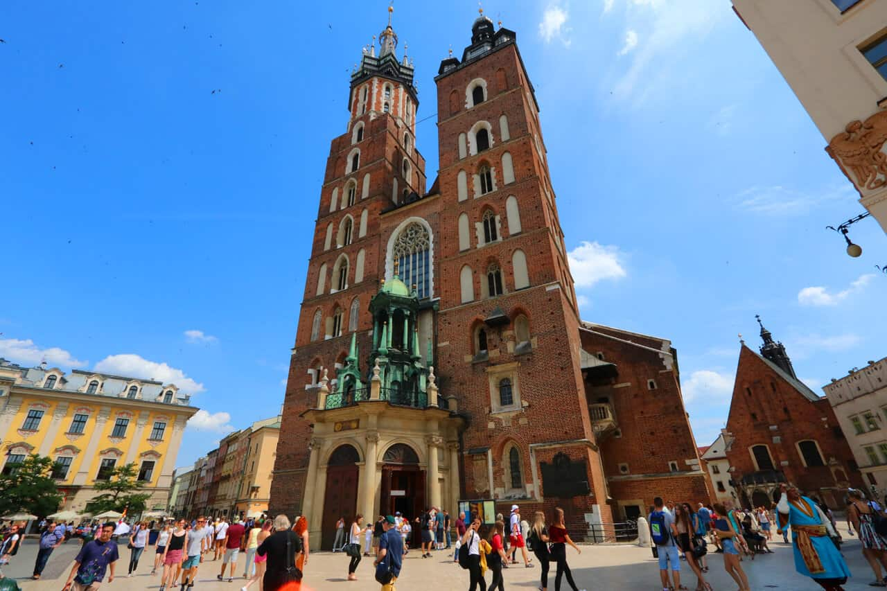 Krakow as a slow travel base