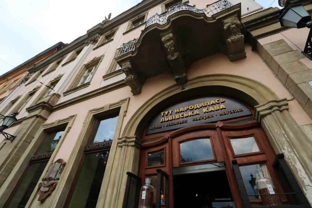 Cafès to go to for the best coffee experiences in Lviv, Ukraine