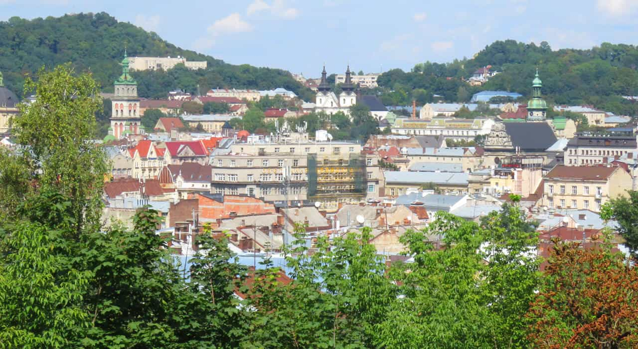 Views in Lviv, Ukraine