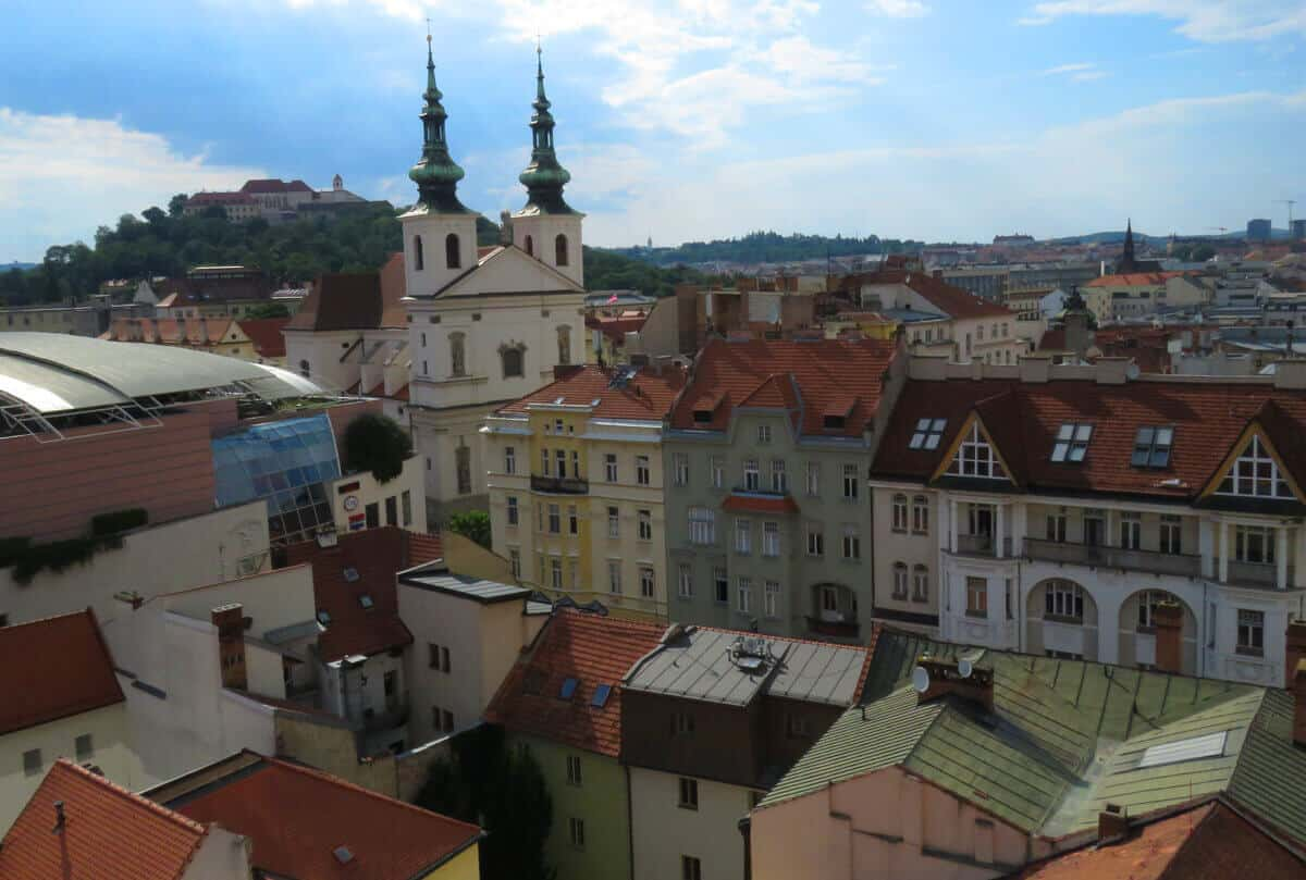 views of Brno, Czech Republic