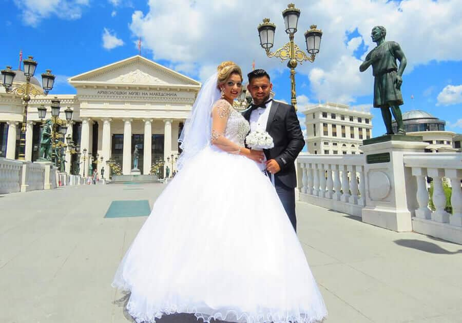 couple in Skopje Macedonia