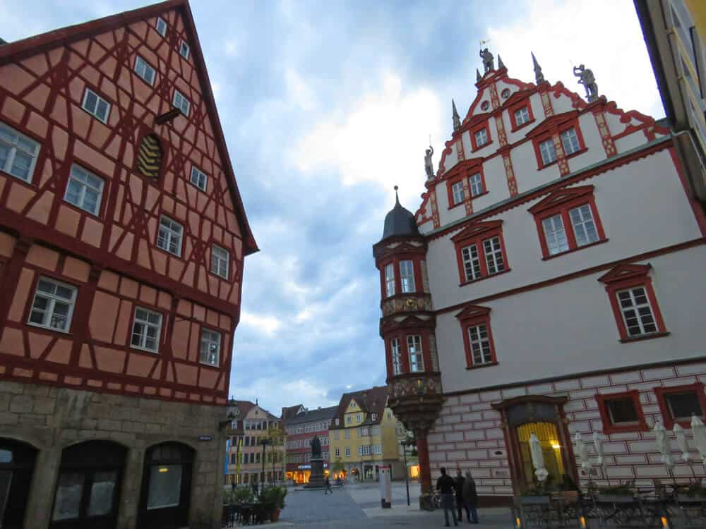 buildings in Coburg Germany