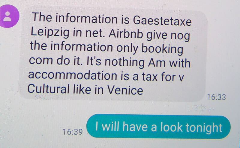 part 4c. Leipzig and the Worst Airbnb host in the World