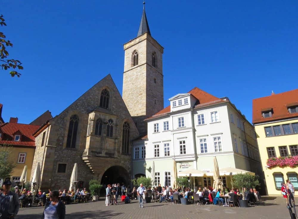 St Ägidien's Church (Ägidienkirche) in Erfurt Germany
