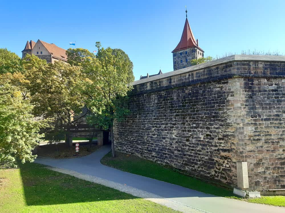 historic walls. Why Nuremberg is worth a Visit