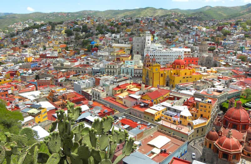 Views of Guanajuato. A roadtrip through Mexico's most beautiful towns and cities