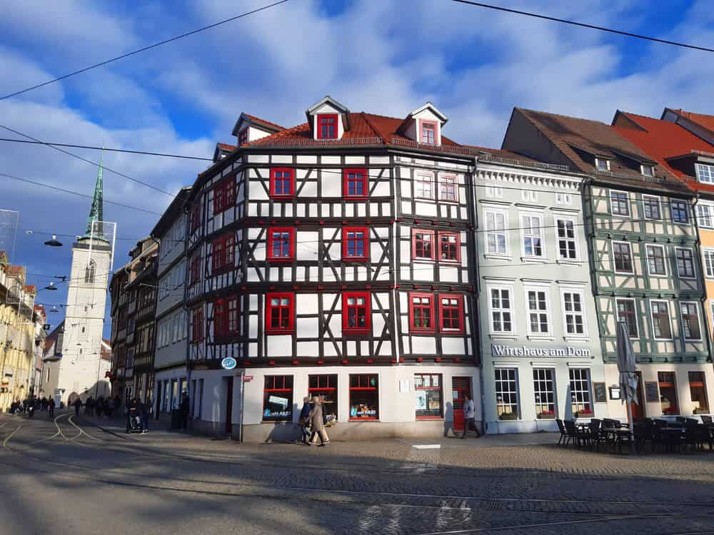 buildings around the Domplatz. Why Erfurt might be Germany's most underrated tourist destination