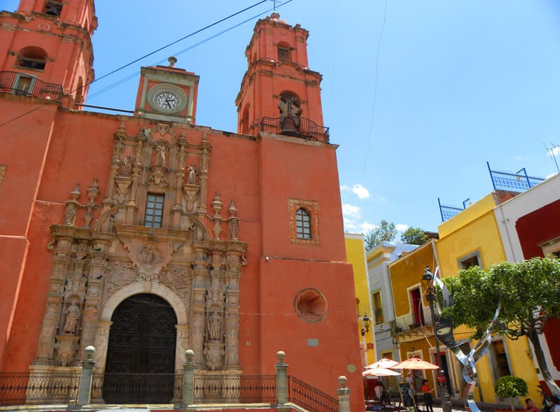 church in Guanajuato Mexico