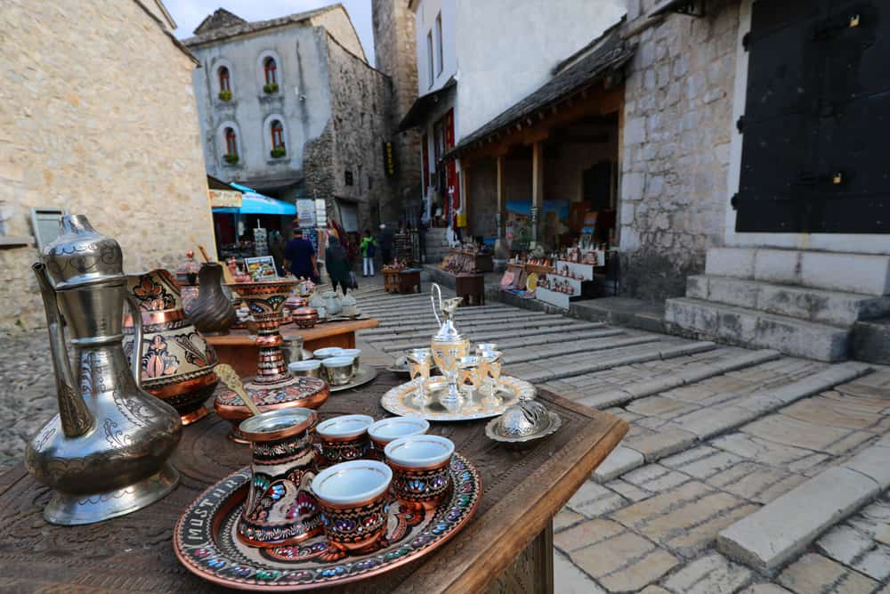 Wander the Old Town (Old Bazaar) in Mostar