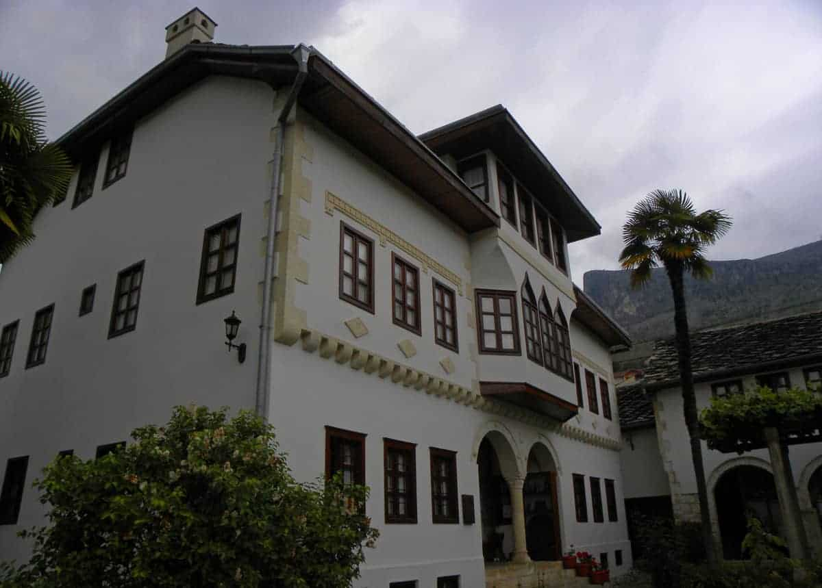 Muslibegović House in Mostar. Museum and hotel