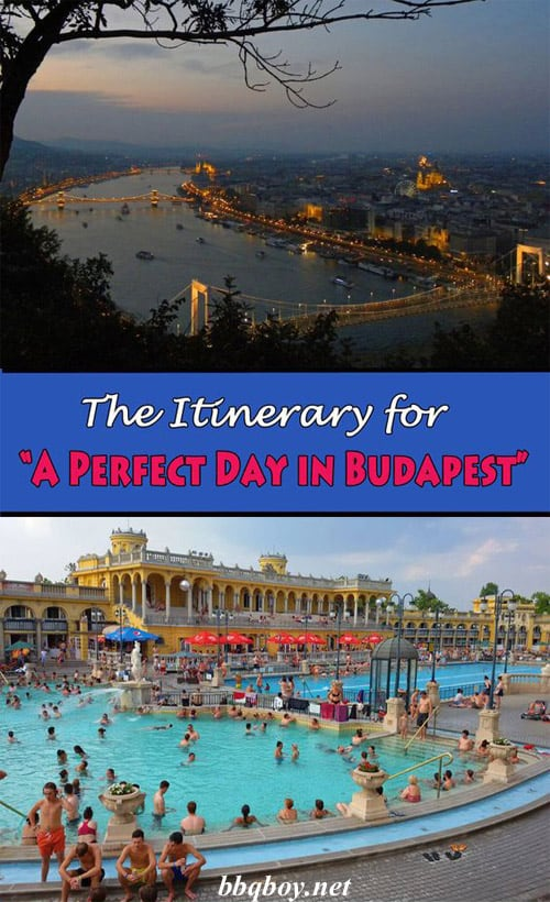 The itinerary for a perfect day in Budapest