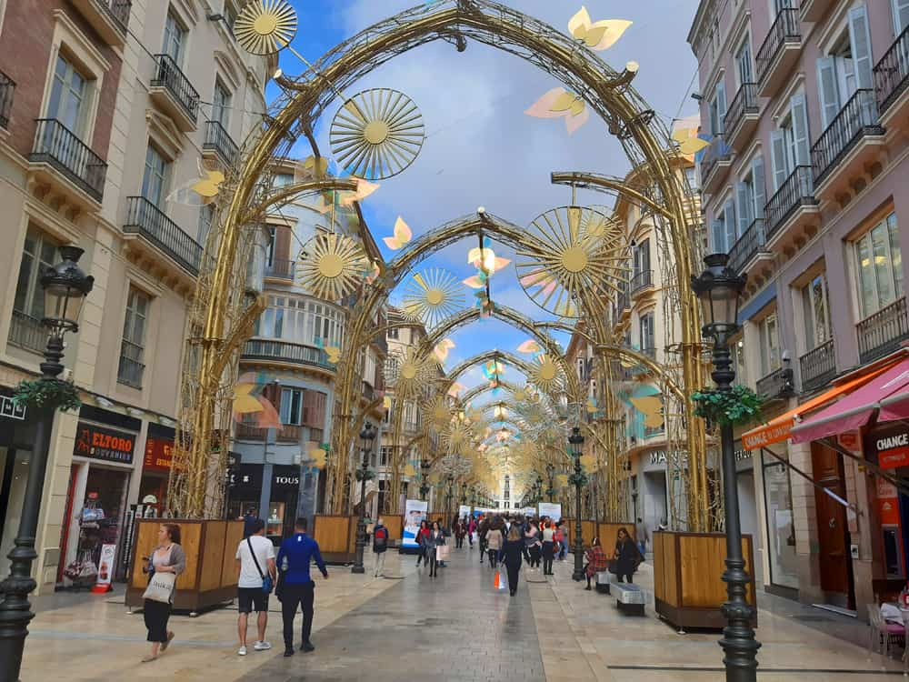 Calle Larios in Malaga. Could we live there?